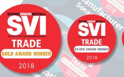 Mehrere Auszeichnungen beim SVI Trade Award