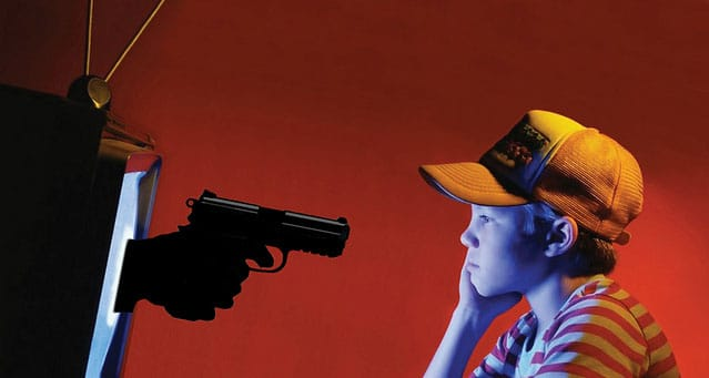 enfant hypnotisé par violence en télévision - mediaculture.fr