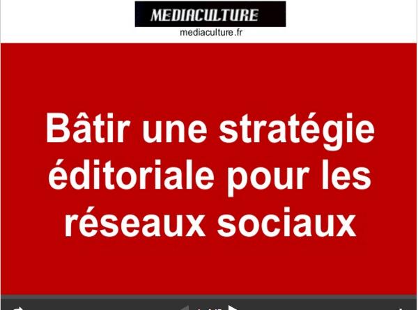 strategie éditoriale pour les réseaux sociaux-mediaculture.fr