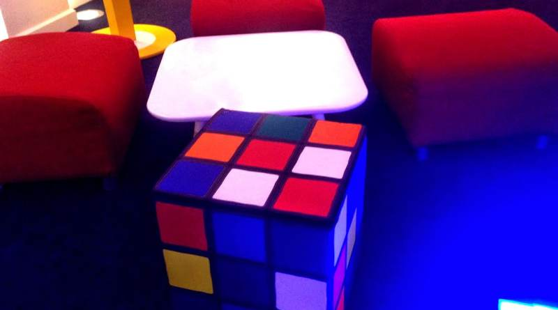 Rubik's cube journocamp Google - ©Journocamp