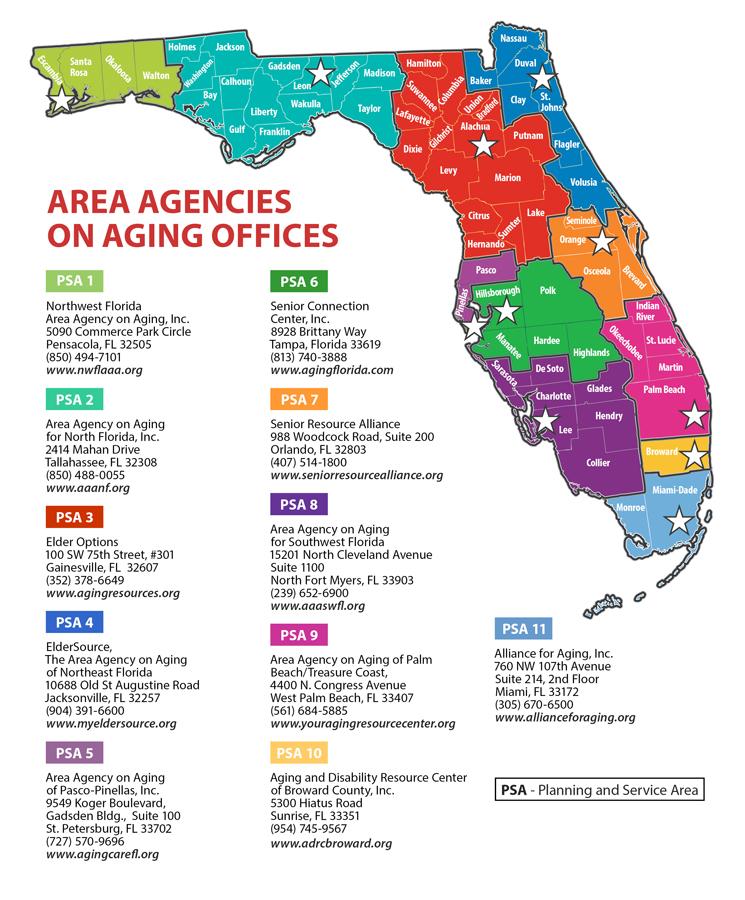 Sarasota Florida West Coast Cities Map