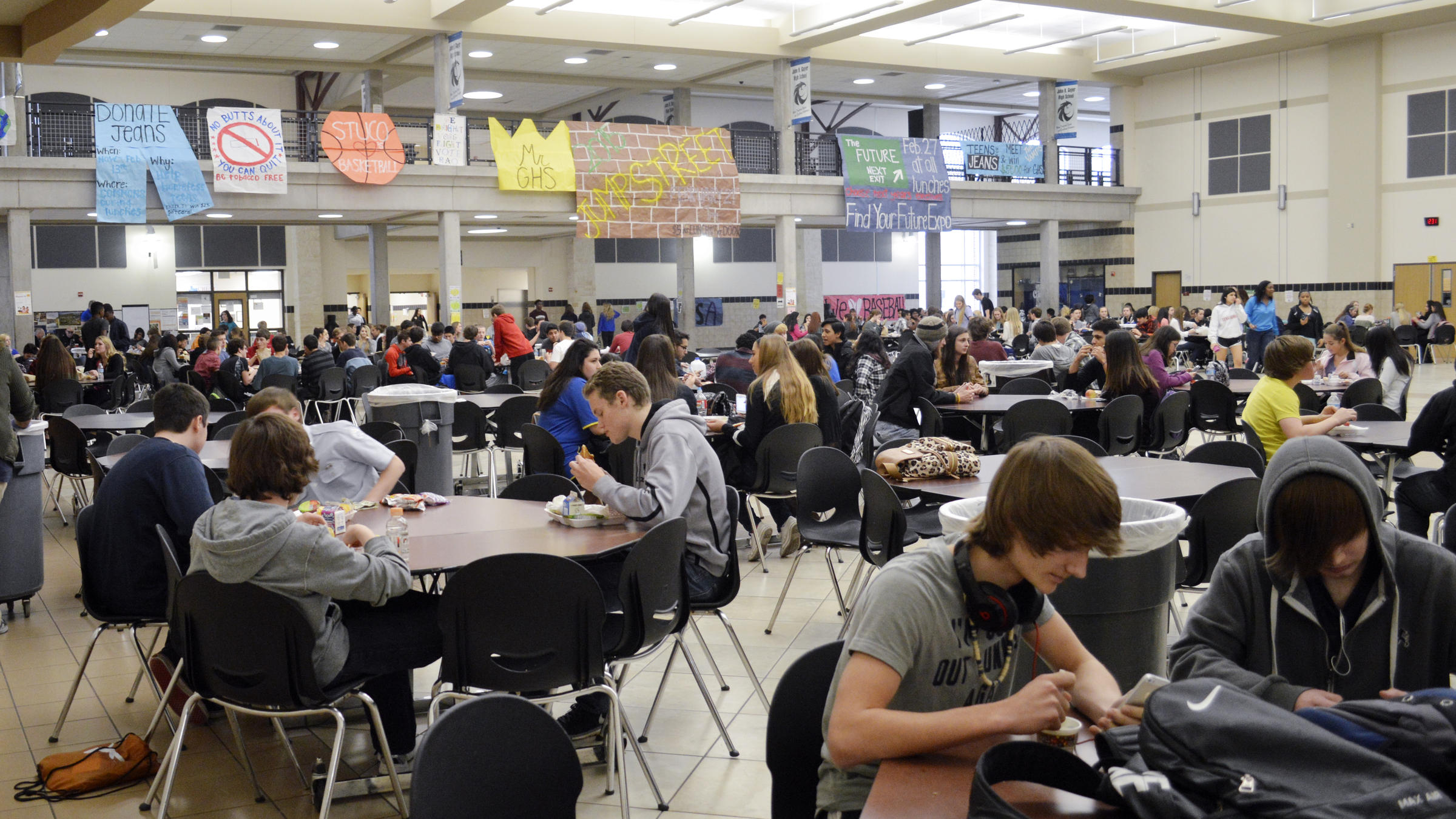 As High Schools Try To Tackle Energy Drinks Kids React