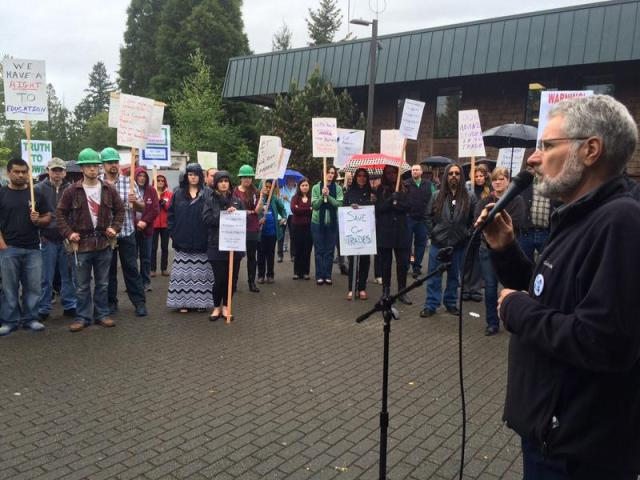 ... College Inflame Tensions   KPLU News for Seattle and the Northwest