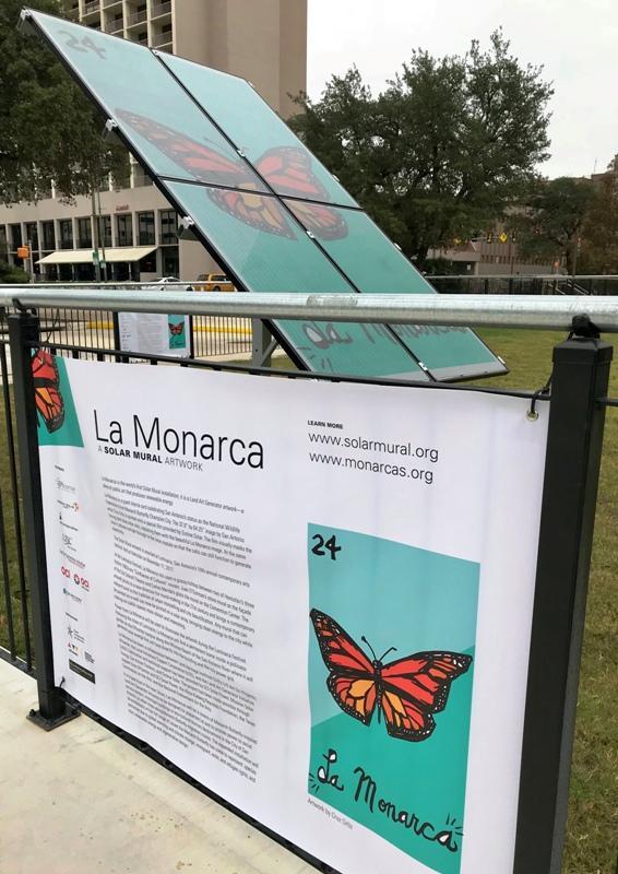 La Monarca detail
