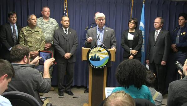 WATCH: Today's press conference on the Flint water crisis ...