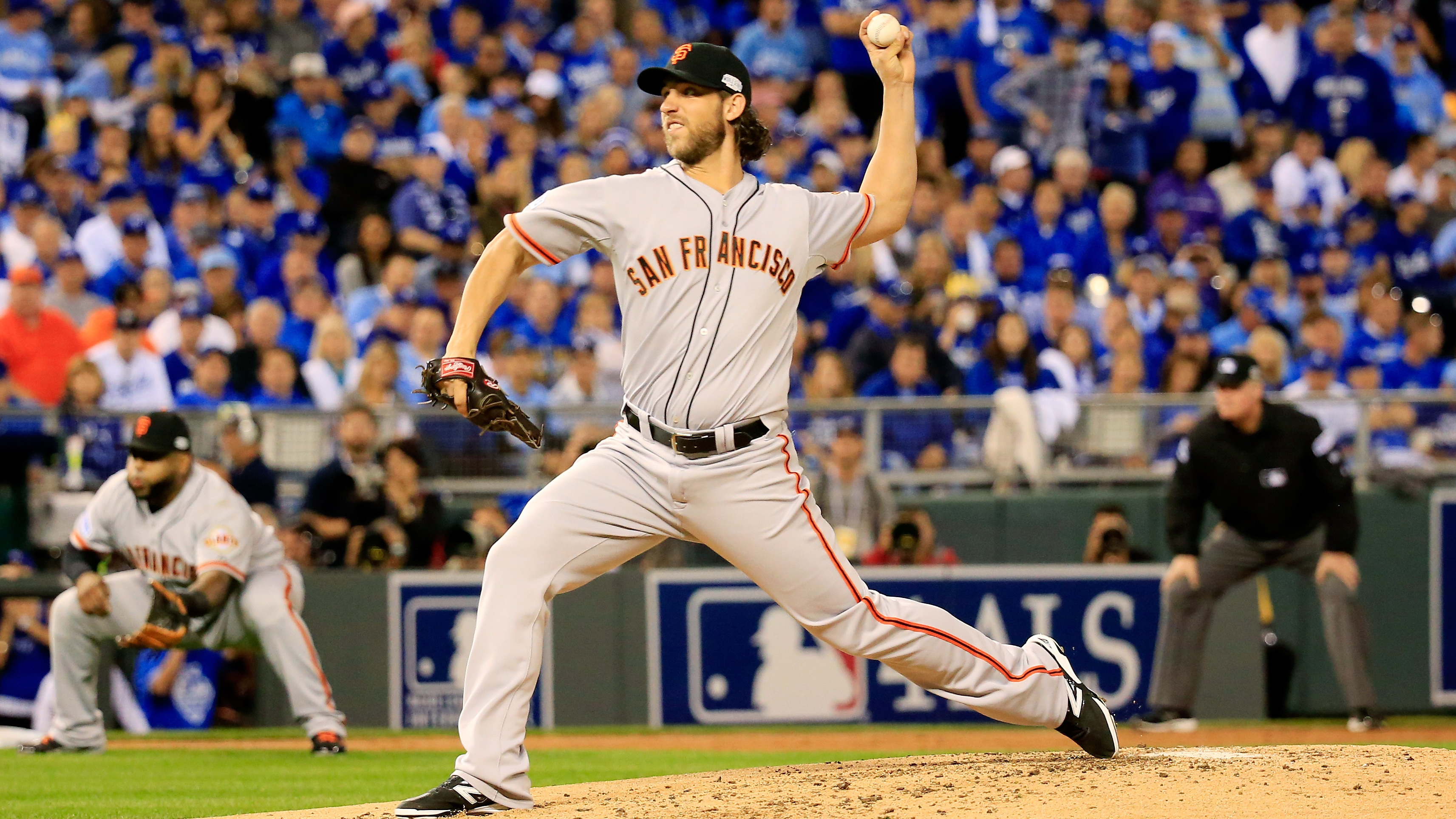 Image result for madison bumgarner world series 2014