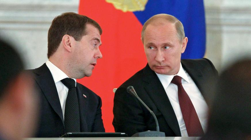Once Championed By Putin, Medvedev Falls Precipitously Out ...