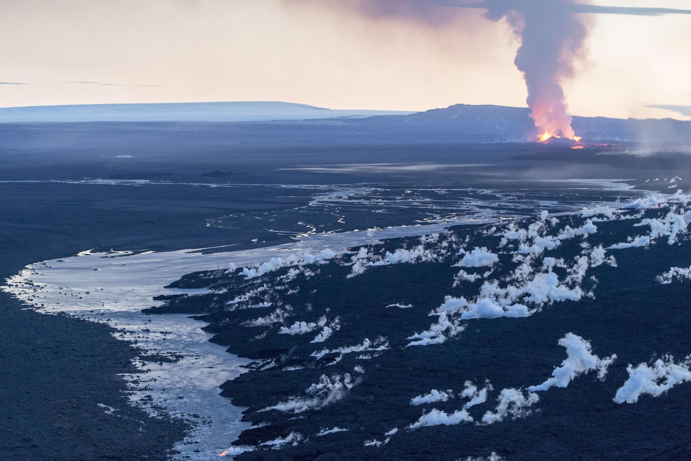 Massive Volcanic Eruption Is Making Iceland Grow