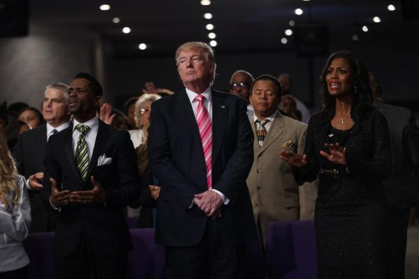 With First Debate Looming, Trump Aims Message At Minority ...