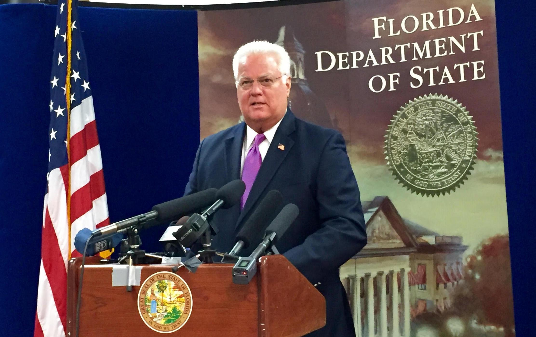 Image result for photos of Secretary of State Ken Detzner