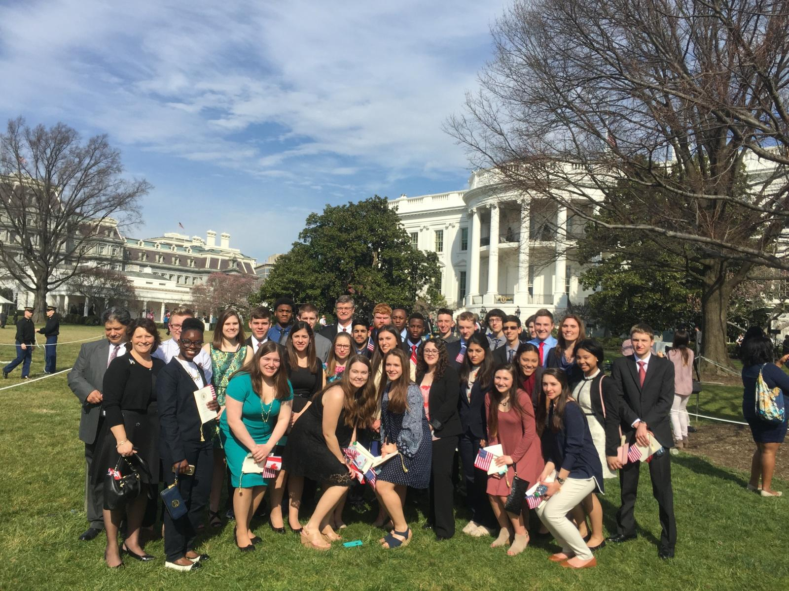 Falls Students Learn Memorable Lesson In Government Stu S