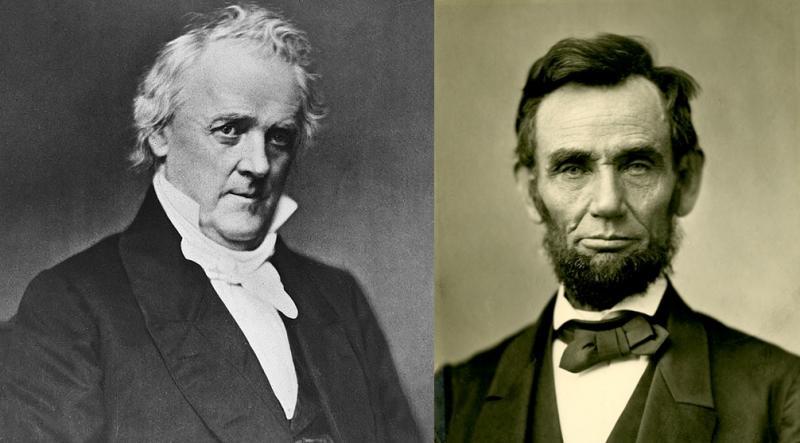 Una difícil transición: de Buchanam a Lincoln.