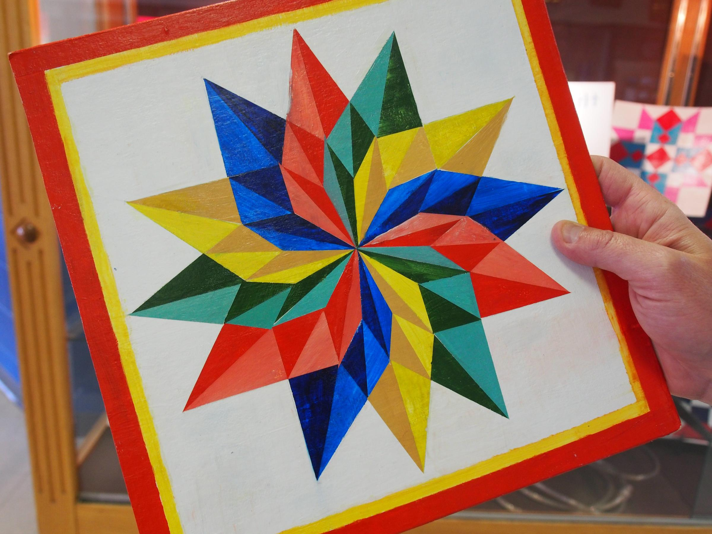 Rural Art Teaches Kids How To Do Geometry