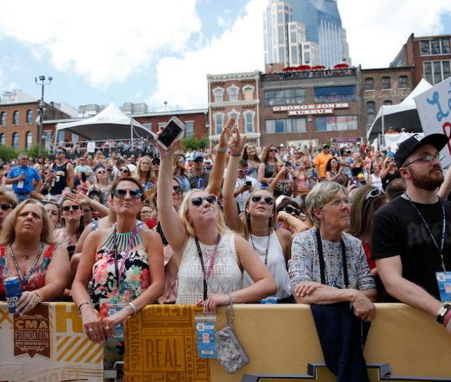 Cma Fest Has Not Gone As Far As Country Music Award Shows In Embracing Genre Mash