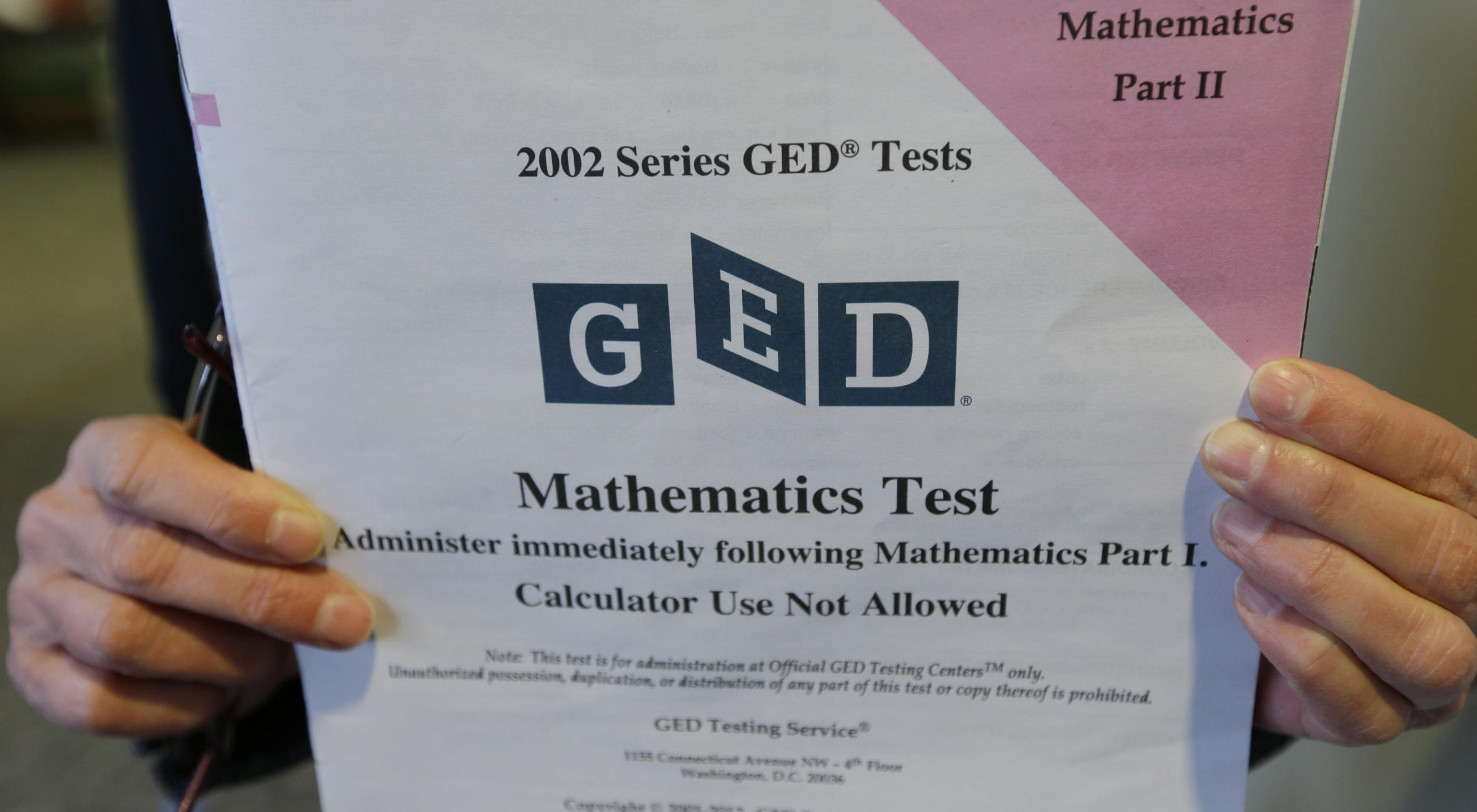 Report Ged Takers Tumble After Update