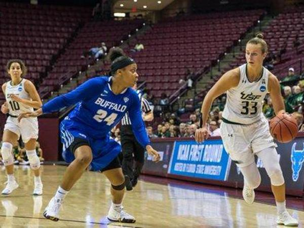 USF Women Lose NCAA Tourney Battle Of The Bulls | WUSF News