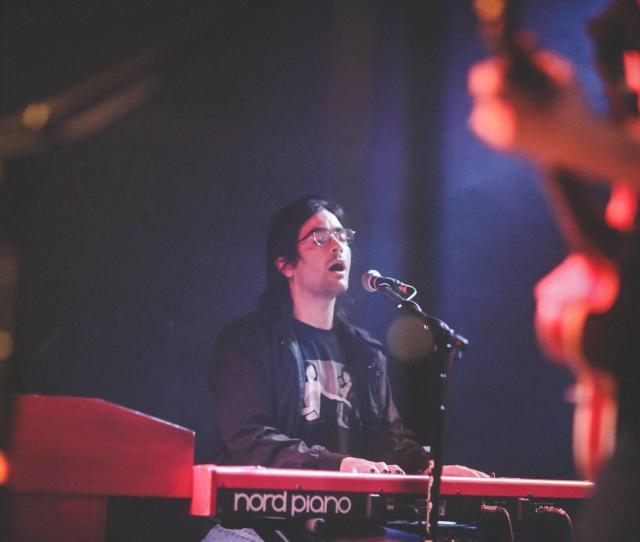 Bradley Goodall Plays The Keys Both For Himself And For Huntington Based Band Ona