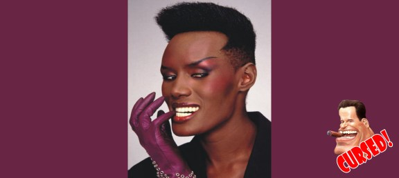 Grace Jones: The only one of Schwarzenegger's leading ladies to become a Bond girl, Grace Jones starred as May Day in 'A View to a Kill' as a followup to her role of Zula in 'Conan the Destroyer'. Already an accomplished singer and model, Jones tried her hand at acting, but her biggest role still remains May Day. From there she had forgettable roles in such films as 'Cyber Bandits', 'Palmer's Pick Up' and the TV movie 'Wolf Girl'. Still, she remains one of Schwarzenegger's 'less cursed' leading ladies.