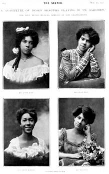 Quartet of 'Dusky' Beauties