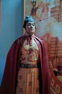 Statue of Zheng He in the Quanzhou Maritime Museum