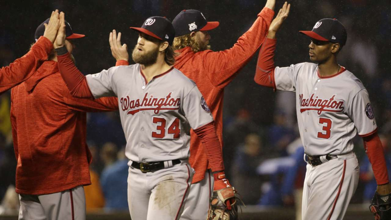 Baker on the Game 5's starter  Nats face Cubs in NLDS Game 5 in Washington mlbf 1862693883 th 45