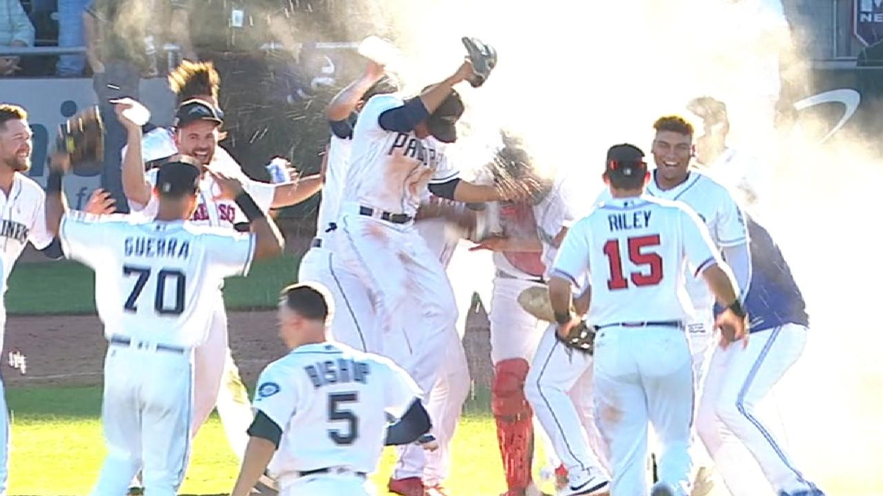 Warren secures the win  Braves' Acuna, Peoria Javelinas win AFL title mlbf 1867420883 th 45
