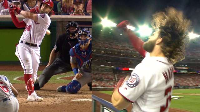 bryce harper's game-tying home run in game 2 of the nlds