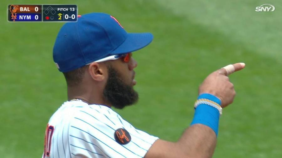 Rosario's superb barehanded play