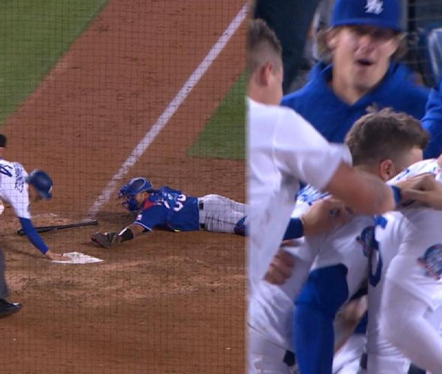 Hernandez Evades Tag To Win Game