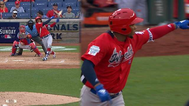 Diaz clubs 2 HRs in Futures Game
