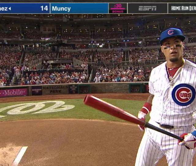 Baez Crushes  Hrs In Round