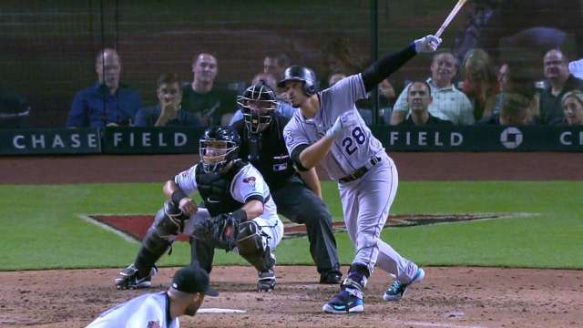 Arenado takes third for NL MVP