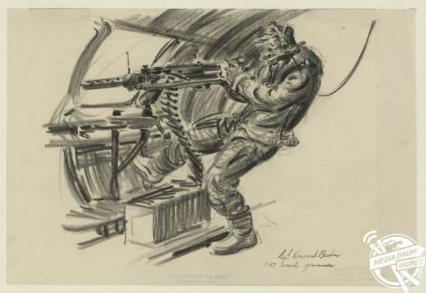 Chilling Sketches By American Artist On Front Line Of WWII ...