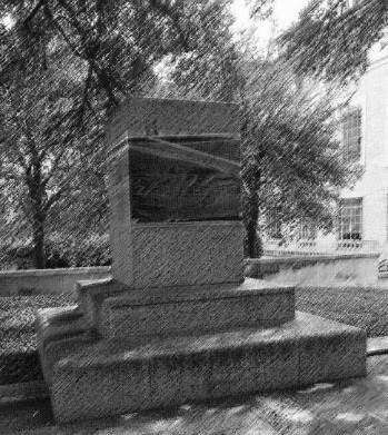 empty statue