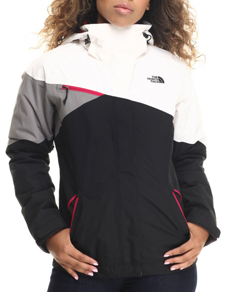 115eb9e57 The North Face – Women Black,grey,white Cinnabar Triclimate Jacket ...