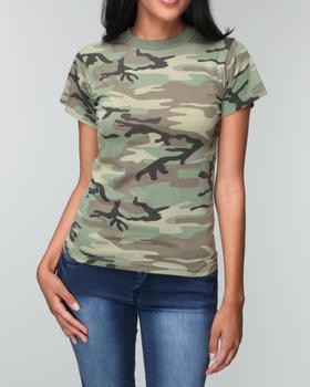 DRJ Army/Navy Shop - Rothco Camo Tee