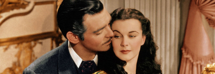 clark gable, vivien leigh, gone with the wind, photo