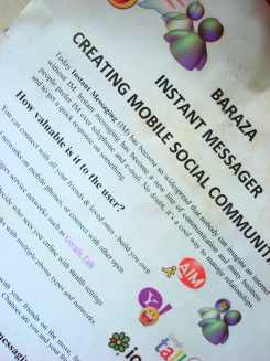 Creating Mobile Based Social Communities