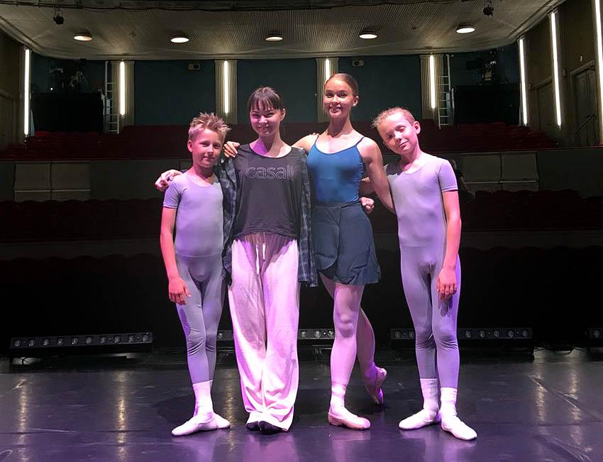 Dansportalen uppmärksammar Svenska Balettskolans vårföreställning på Lorensbergsteatern