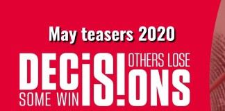 Decisions Teasers May 2020