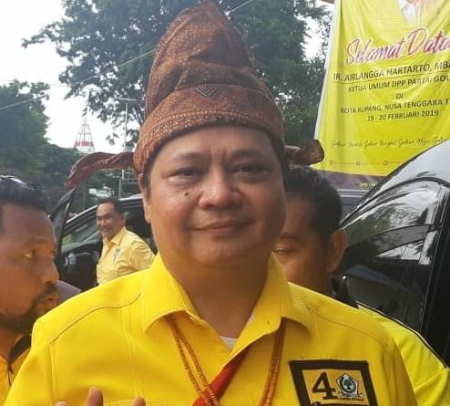 Ketua Umum Golkar Airlangga Hartarto