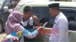 Kepala Kemenag Koltim Drs. Muhammad Yusup saat diwawancarai awak media. (Foto : Jaspin/Mediakendari.com)