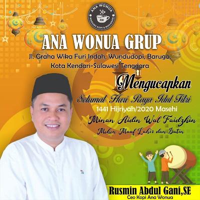 Iklan Ana Wonua Grup Idul Fitri