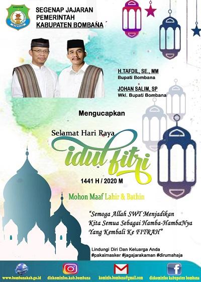 Iklan Pemda Bombana Idul Fitri (terbit)