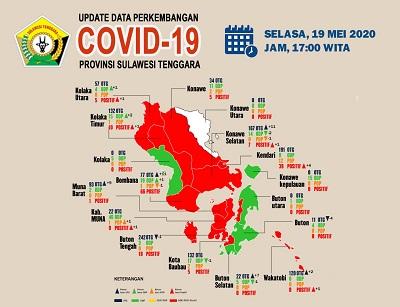 Iklan Penyebaran Covid tgl 19