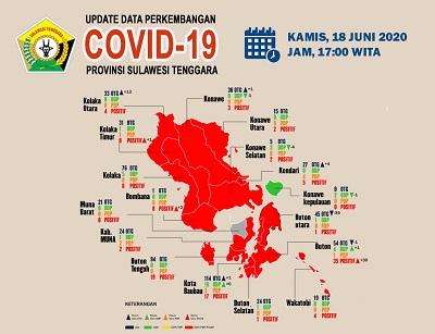 Data Perkembangan Covid 18 Juni