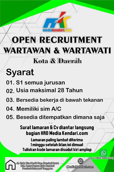 Open rekrutmen wartwan
