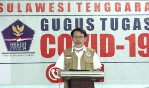 jpg Jubir Gugus Tugas Covid-19 Prov Sultra, dr La Ode Rabiul Awal