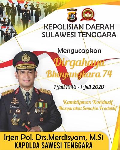 Iklan Polda Hut Bhayangkara