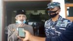Wali Kota Baubau, Dr H AS Tamrin MH bersama Kolonel Laut (P) Andike Sry Mutia